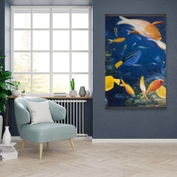 Magnetic 28 x 42 - Colorful fish under the sea