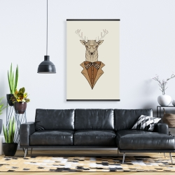 Magnetic 28 x 42 -  deer with brown coat