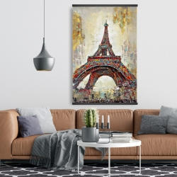 Magnetic 28 x 42 - Abstract eiffel tower