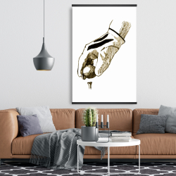 Magnetic 28 x 42 - Illustration of a golf glove