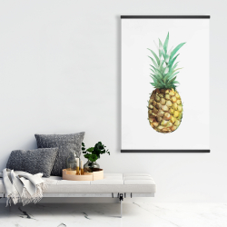 Magnetic 28 x 42 - Watercolor pineapple