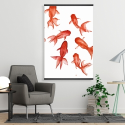 Magnetic 28 x 42 - Red fishes