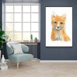Magnetic 28 x 42 - Watercolor baby fox