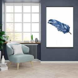 Magnetic 28 x 42 - Blue feather