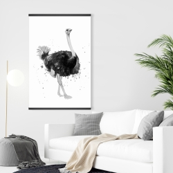 Magnetic 28 x 42 - Proud ostrich