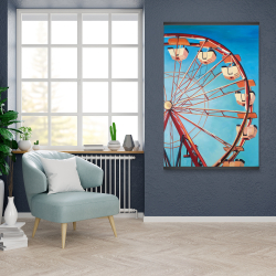 Magnetic 28 x 42 - Ferris wheel by a beautiful day