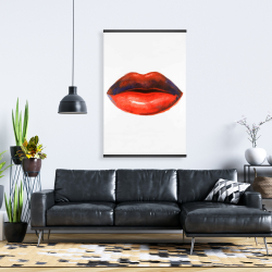 Magnetic 28 x 42 - Red lipstick