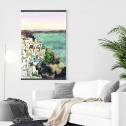 Magnetic 28 x 42 - Landscape of crete