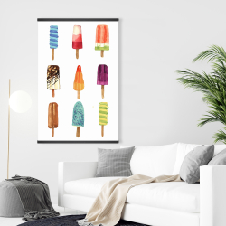 Magnetic 28 x 42 - Iced lollipop