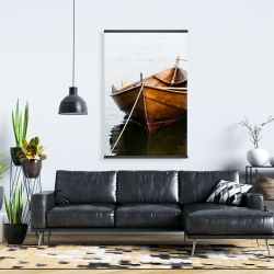 Magnetic 28 x 42 - Rowboat on calm water