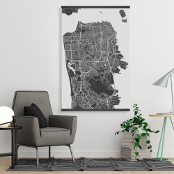 Magnetic 28 x 42 - San francisco city plan