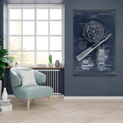 Magnetic 28 x 42 - Blueprint of a fishing reel