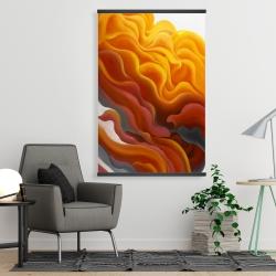 Magnetic 28 x 42 - Colorful smoke