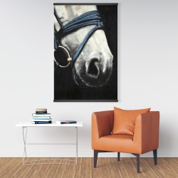 Magnetic 28 x 42 - Horse with harness
