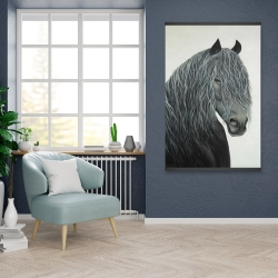 Magnetic 28 x 42 - Wild heart horse