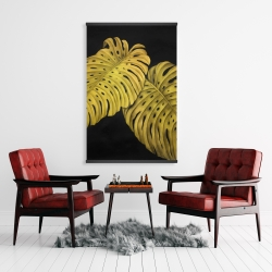 Magnetic 28 x 42 - Gold monstera