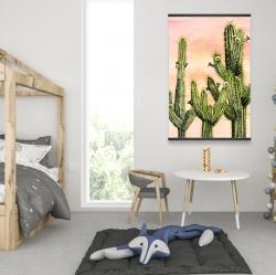 Magnétique 28 x 42 - Cactus weberocereus