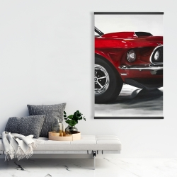 Magnetic 28 x 42 - Classic red car