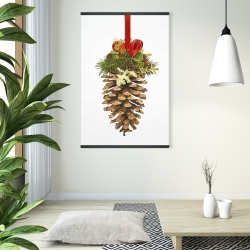 Magnetic 28 x 42 - Christmas pine cone