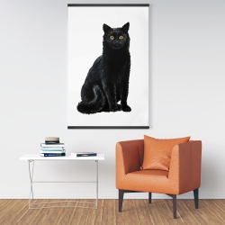 Magnetic 28 x 42 - Black cat