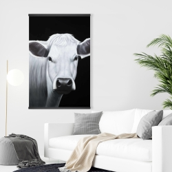 Magnetic 28 x 42 - White cow