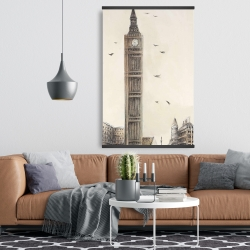 Magnetic 28 x 42 - Big ben in london