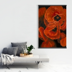 Magnetic 28 x 42 - Poppy bouquet