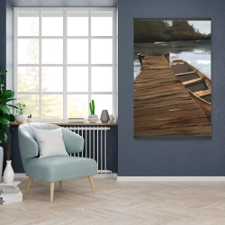Magnetic 28 x 42 - Lake, dock and boat