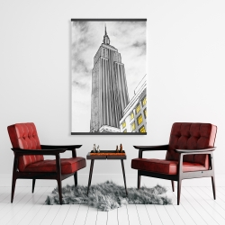 Magnetic 28 x 42 - Outline of empire state building
