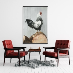 Magnetic 28 x 42 - Wyandotte rooster
