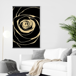 Magnetic 28 x 42 - Black rose
