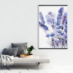 Magnetic 28 x 42 - Watercolor lavender flowers