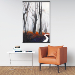 Magnetic 28 x 42 - Mysterious forest with stream