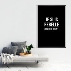 Magnetic 28 x 42 - I'm rebellious