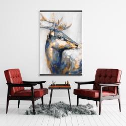Magnetic 28 x 42 - Golden deer