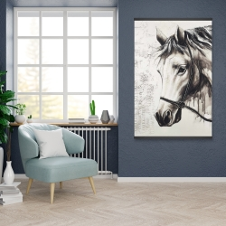 Magnetic 28 x 42 - Alpha the white horse