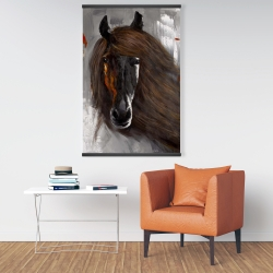 Magnetic 28 x 42 - Proud brown horse