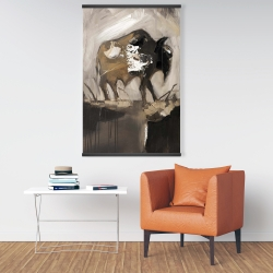 Magnetic 28 x 42 - Abstract buffalo