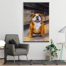Magnetic 28 x 42 - Smiling bulldog