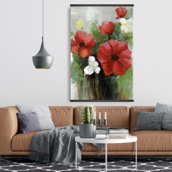 Magnetic 28 x 42 - Abstract wild flowers bundle