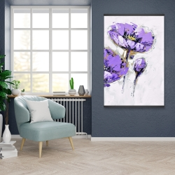 Magnetic 28 x 42 - Purple anemones