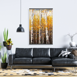 Magnetic 28 x 42 - Birches by sunny day