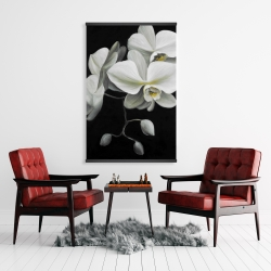 Magnetic 28 x 42 - White orchids