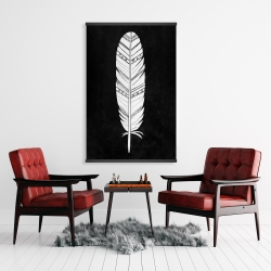 Magnetic 28 x 42 - Native american feather