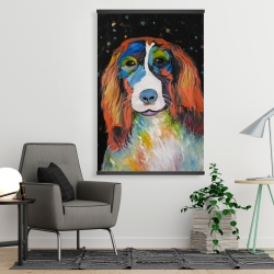 Magnetic 28 x 42 - Colorful dog