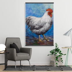 Magnetic 28 x 42 - Grey rooster