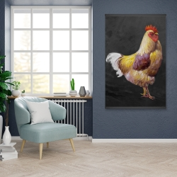 Magnetic 28 x 42 - Beautiful rooster 2