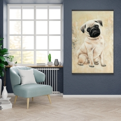 Magnetic 28 x 42 - Small pug