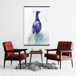 Magnetic 28 x 42 - Graceful peacock
