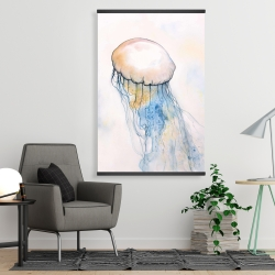 Magnetic 28 x 42 - Watercolor jellyfish